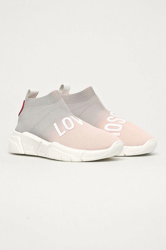 Love Moschino - Cipő rózsaszín