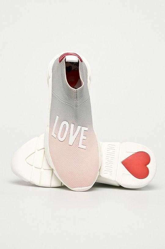 rózsaszín Love Moschino - Cipő