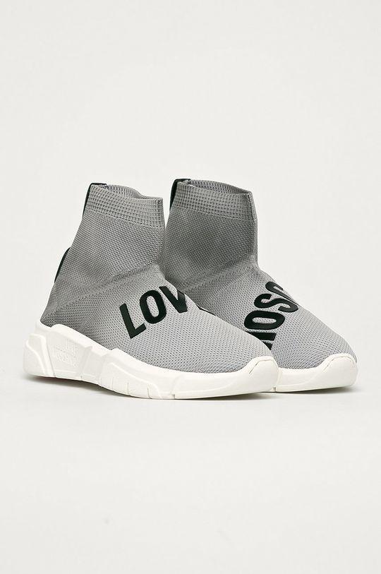 Love Moschino - Cipő szürke