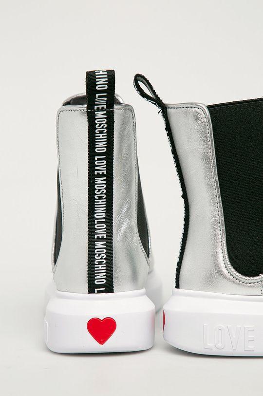 Love Moschino - Cizme  Gamba: Material sintetic, Material textil Interiorul: Material sintetic, Material textil Talpa: Material sintetic