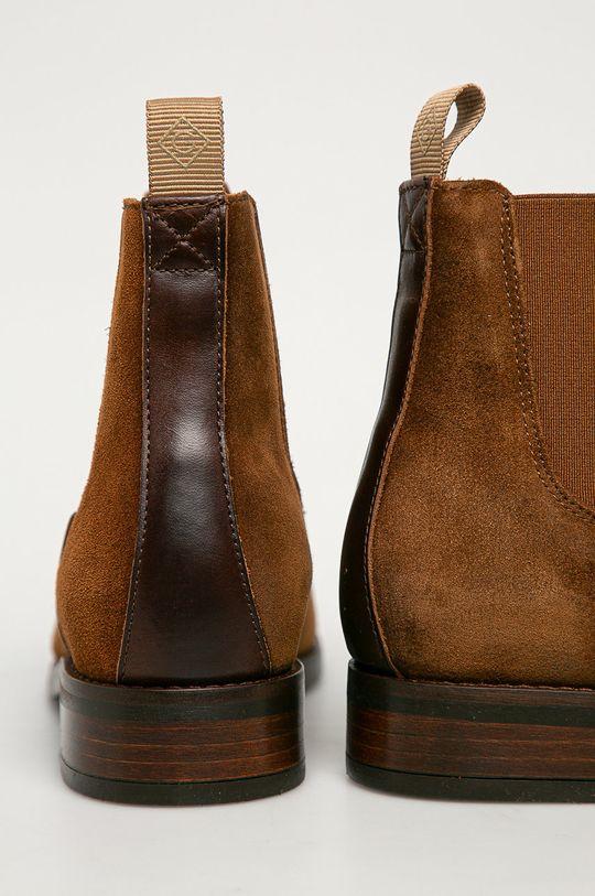 Gant - Semišové kotníkové boty  Svršek: Semišová kůže Vnitřek: Textilní materiál, Přírodní kůže Podrážka: Umělá hmota
