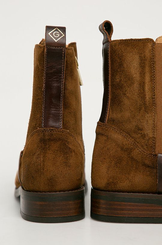 Gant - Semišové boty Fayy  Svršek: Semišová kůže Vnitřek: Přírodní kůže Podrážka: Umělá hmota