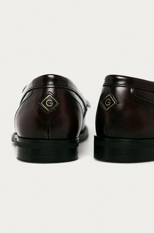 Gant - Mokasyny skórzane St Beeton Cholewka: Skóra naturalna, Wnętrze: Materiał tekstylny, Skóra naturalna, Podeszwa: Materiał syntetyczny