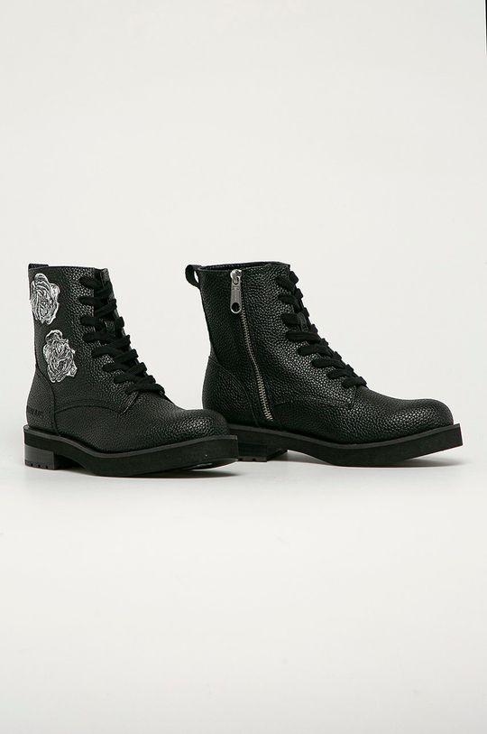 Calvin Klein Jeans - Workery czarny