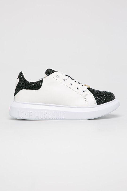 alb Love Moschino - Pantofi De femei