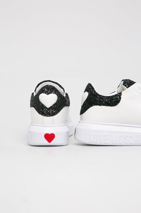 Love Moschino - Pantofi  Gamba: Material sintetic, Piele naturala Interiorul: Material sintetic, Material textil Talpa: Material sintetic