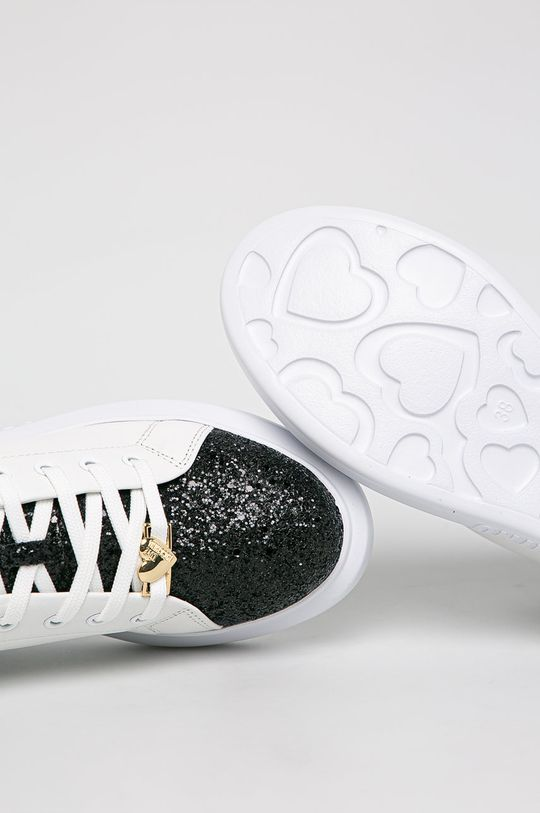 alb Love Moschino - Pantofi