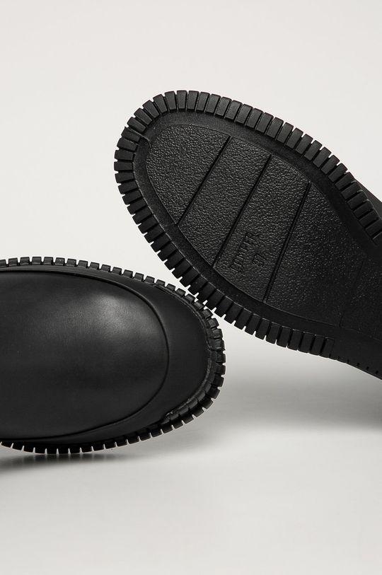 černá Camper - Kožené kotníkové boty Pix