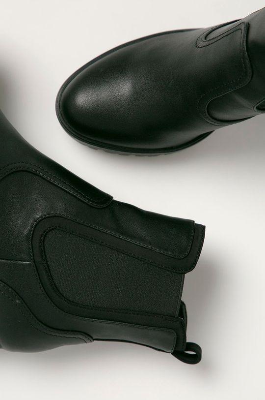 Guess Jeans - Boty s gumou  Svršek: Umělá hmota, Textilní materiál Vnitřek: Umělá hmota, Textilní materiál Podrážka: Umělá hmota