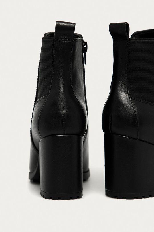 Aldo - Kožené členkové topánky Frasillo  Zvršok: Prírodná koža Vnútro: Syntetická látka, Textil Podrážka: Syntetická látka