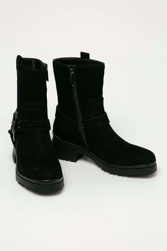 Liu Jo - Semišové boty černá