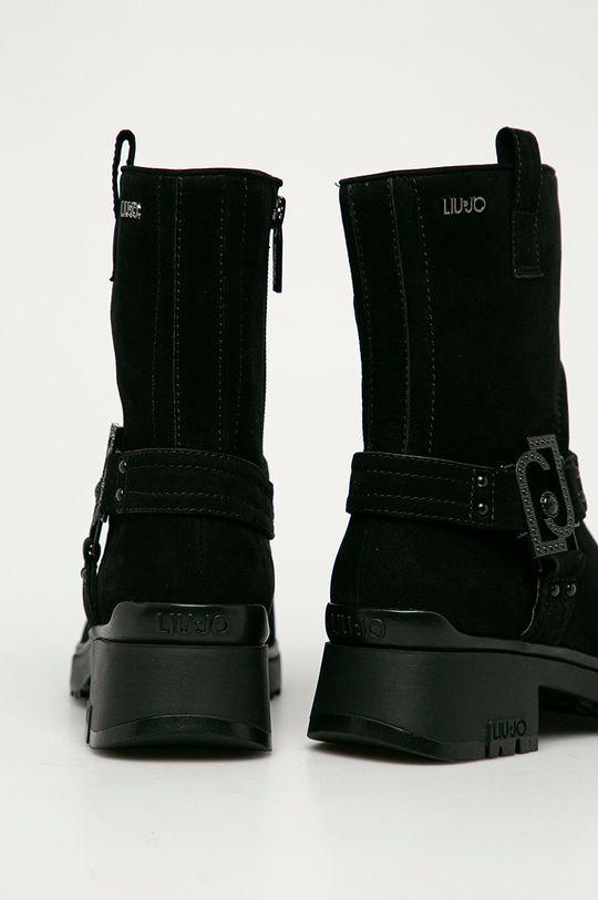 Liu Jo - Semišové boty  Svršek: Semišová kůže Vnitřek: Umělá hmota, Textilní materiál, Přírodní kůže Podrážka: Umělá hmota