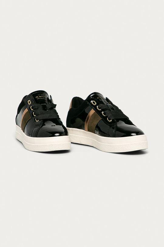 Gant - Buty skórzane Avona czarny