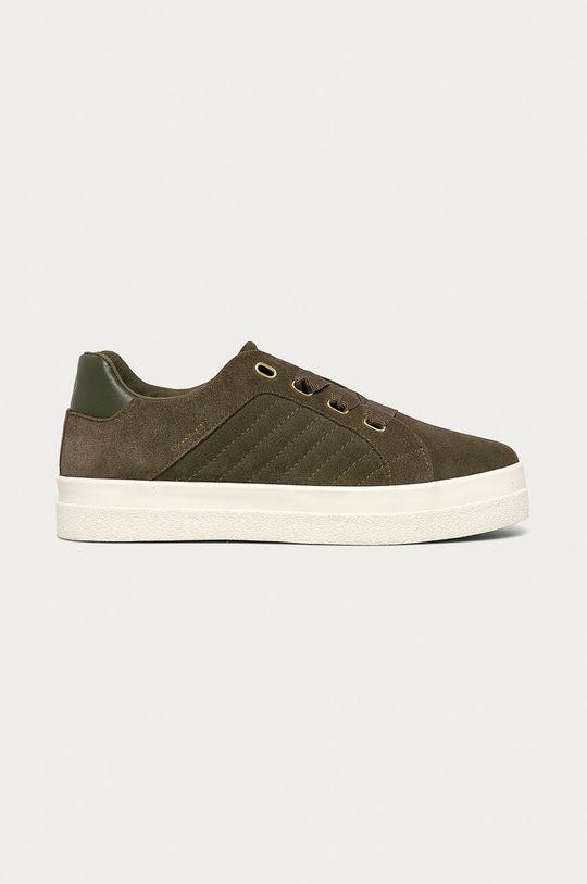 olivová Gant - Semišové boty Avona Dámský