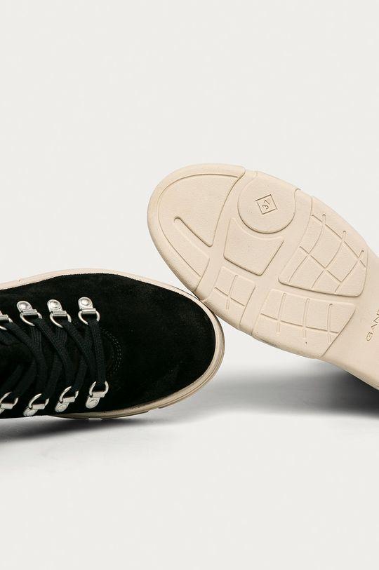 czarny Gant - Buty skórzane Najor