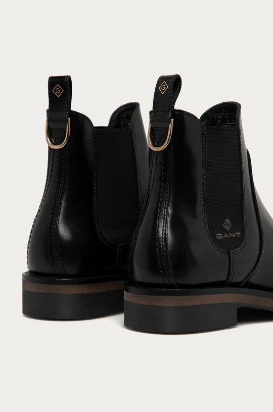 Gant - Kožené kotníkové boty Maliin  Svršek: Přírodní kůže Vnitřek: Textilní materiál, Přírodní kůže Podrážka: Umělá hmota