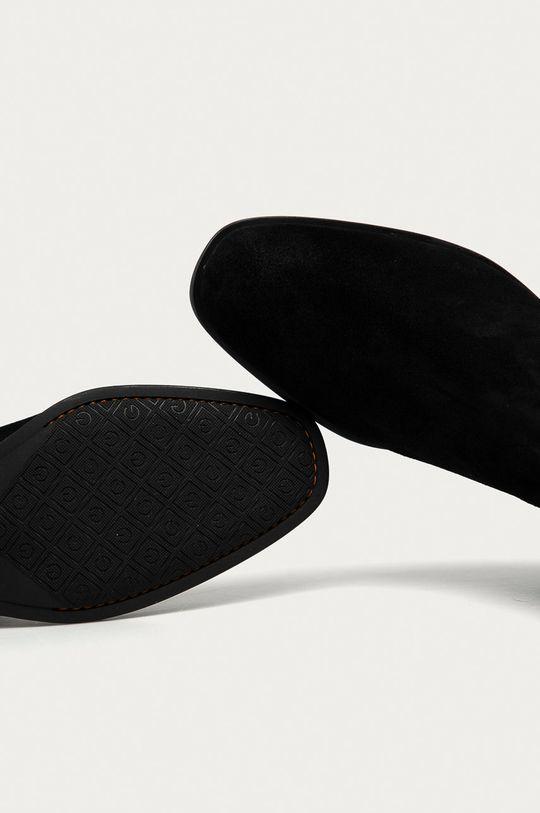 negru Gant - Botine din piele intoarsa Dellar