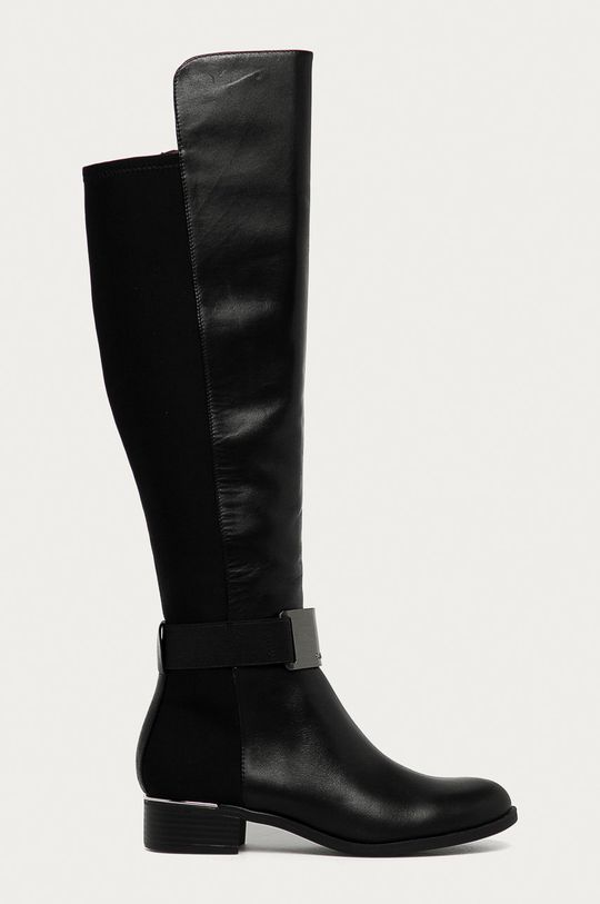 čierna Calvin Klein - Vysoké čižmy Dámsky
