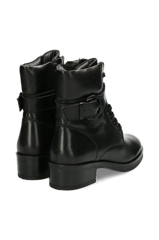 Mexx - Kožené kotníkové boty Booties Daley  Svršek: Hovězí useň Vnitřek: Textilní materiál, Přírodní kůže Podrážka: Umělá hmota Vložka: Přírodní kůže