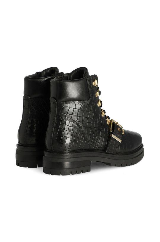 Mexx - Cizme de piele Ankle Boots Fall  Gamba: Piele naturala Interiorul: Piele naturala, Lana Talpa: Material sintetic