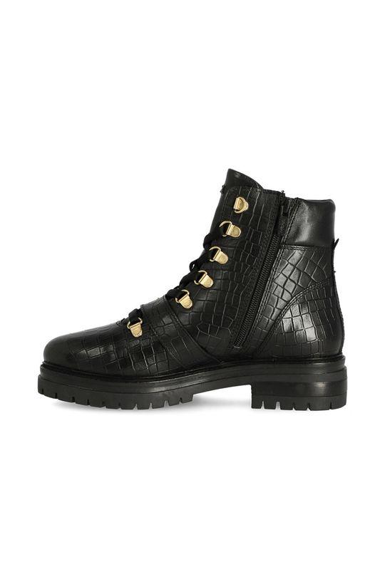 negru Mexx - Cizme de piele Ankle Boots Fall