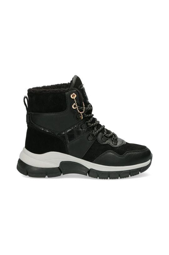 černá Mexx - Trapery Ankle Boots Faylin Dámský