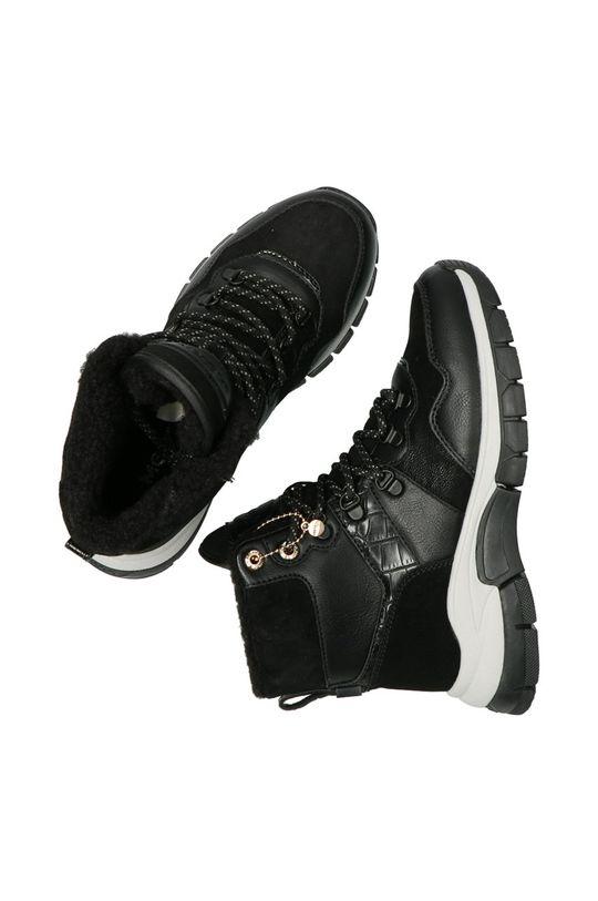 černá Mexx - Trapery Ankle Boots Faylin