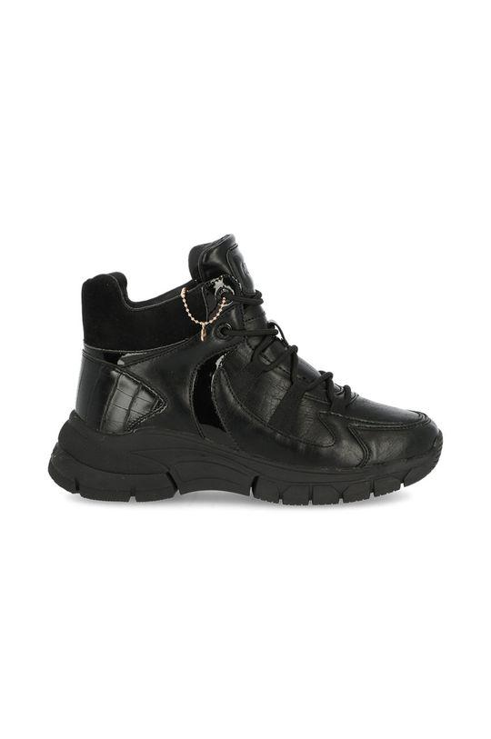 černá Mexx - Boty Ankle Boots Fem Dámský