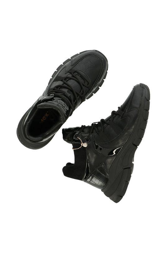 černá Mexx - Boty Ankle Boots Fem