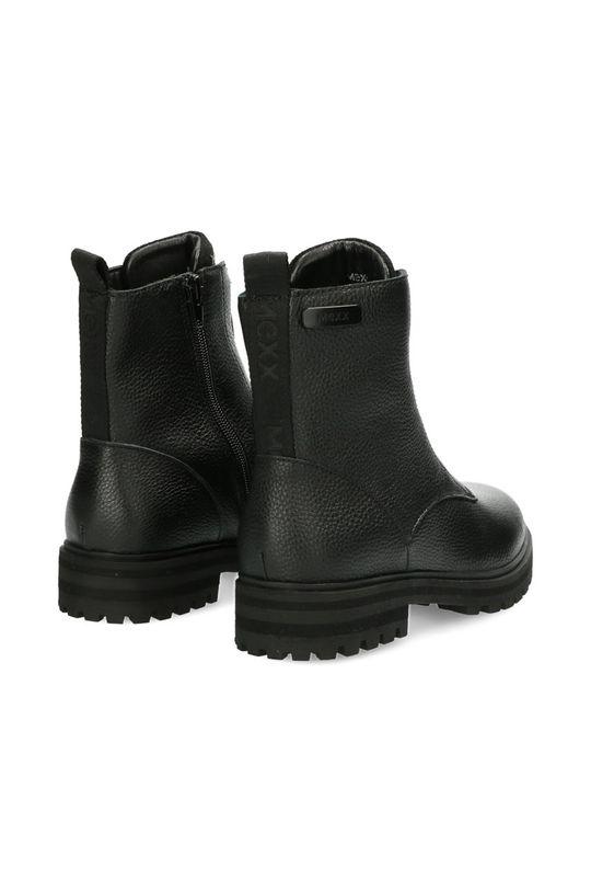 Mexx - Kožené kotníkové boty Booties Flame  Svršek: Umělá hmota, Přírodní kůže Vnitřek: Textilní materiál Podrážka: Umělá hmota Vložka: Přírodní kůže