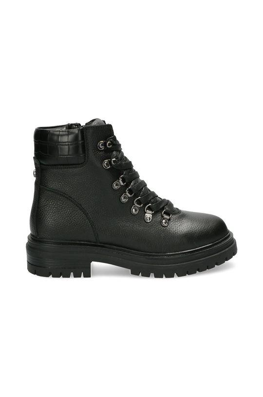 czarny Mexx - Botki skórzane Ankle Boots Fresh Damski