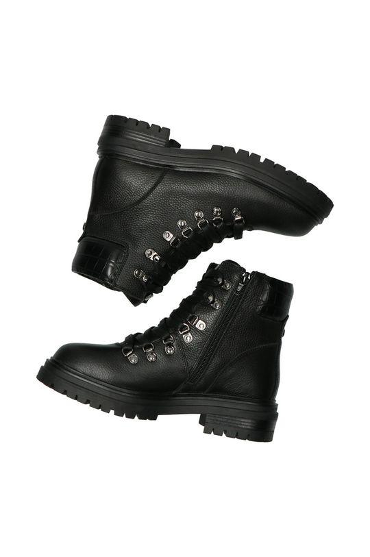 czarny Mexx - Botki skórzane Ankle Boots Fresh