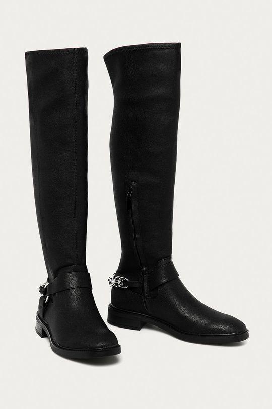 Calvin Klein - Kozaki czarny