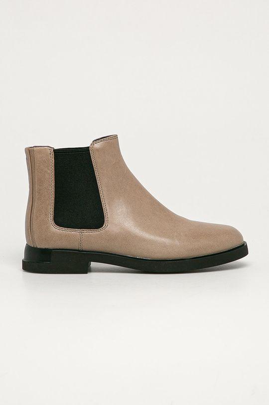 sivá Camper - Kožené topánky Chelsea Iman Dámsky