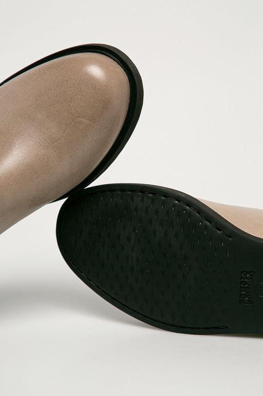 sivá Camper - Kožené topánky Chelsea Iman