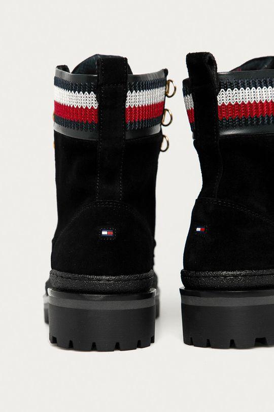 Tommy Hilfiger - Pantofi de piele intoarsa  Gamba: Material sintetic, Piele intoarsa Interiorul: Material textil, Piele naturala Talpa: Material sintetic