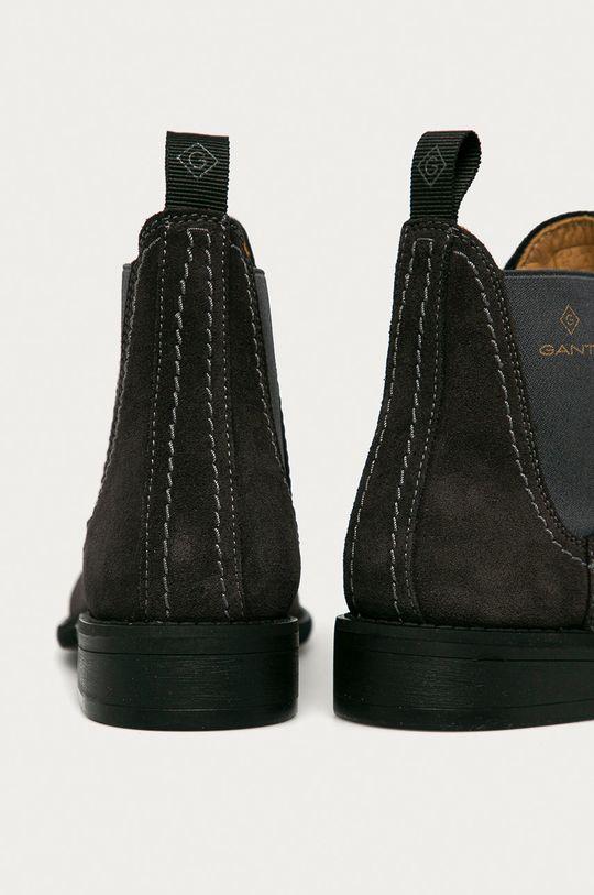 Gant - Sztyblety zamszowe Ainsley Cholewka: Skóra zamszowa, Wnętrze: Skóra naturalna, Podeszwa: Materiał syntetyczny