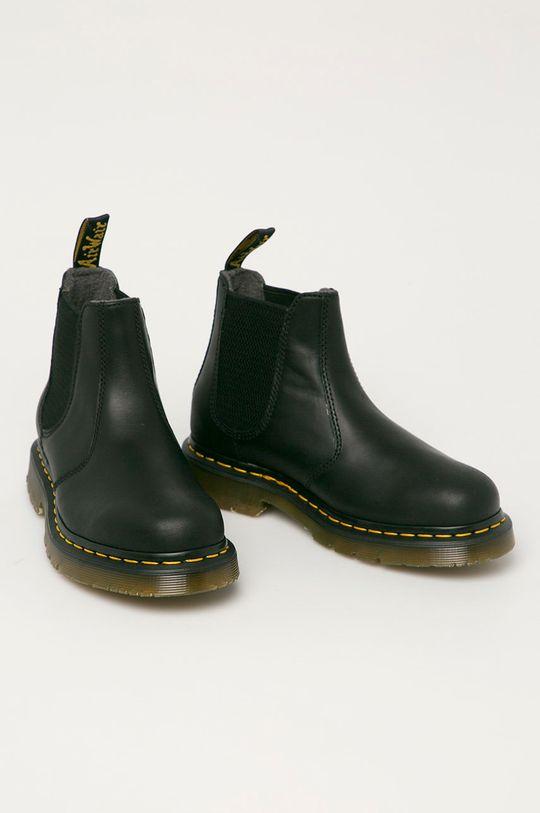 Dr. Martens - Kožené kotníkové boty 2976 černá