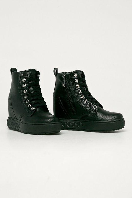 Guess Jeans - Botki czarny