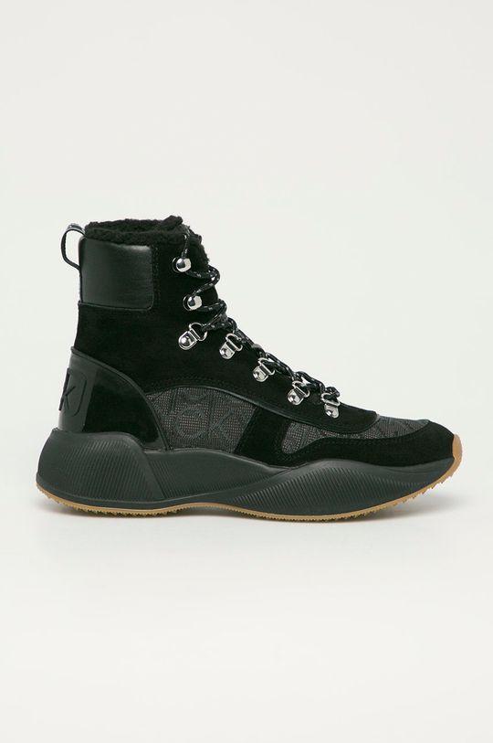 čierna Calvin Klein - Topánky Dámsky