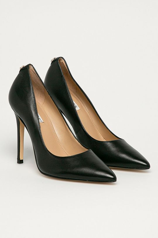 Guess - Stilettos de piele negru