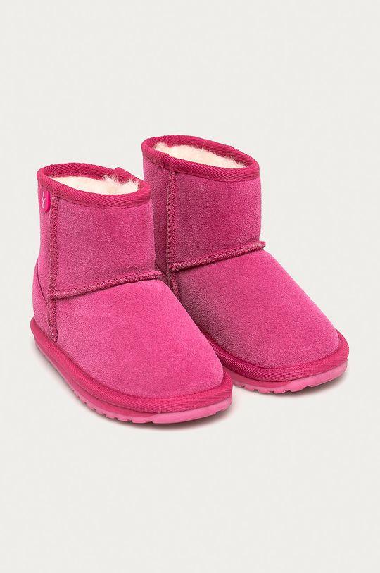 Emu Australia - Cizme de iarna copii Wallaby Mini roz
