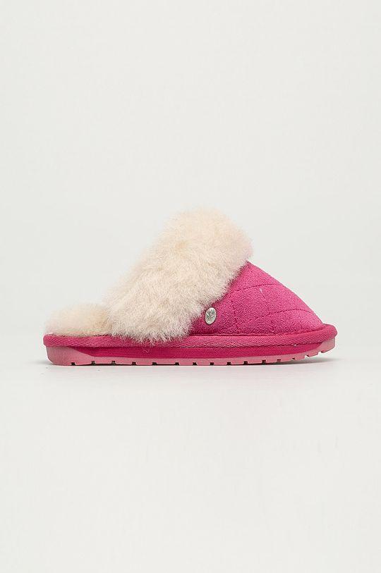 růžová Emu Australia - Dětské papuče Jolie Kids Quilt Dívčí