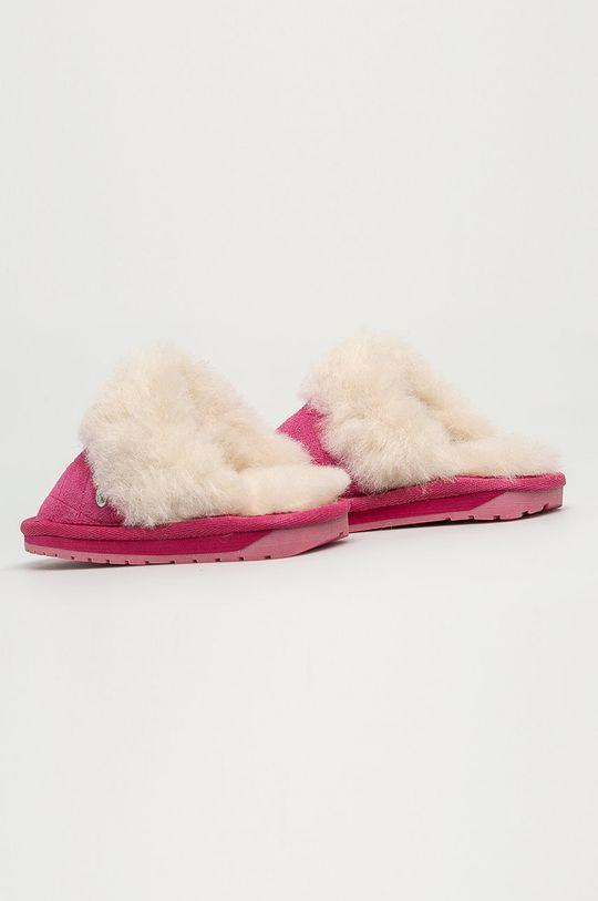 Emu Australia - Dětské papuče Jolie Kids Quilt  Svršek: Přírodní kůže Vnitřek: Merino vlna Podrážka: Umělá hmota