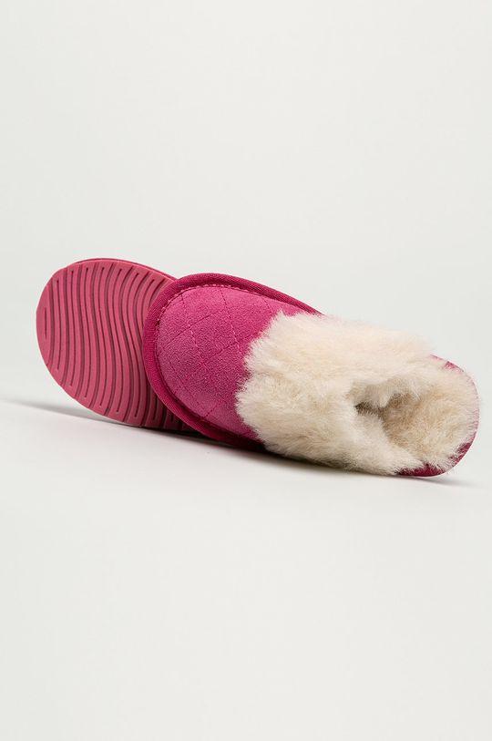 růžová Emu Australia - Dětské papuče Jolie Kids Quilt