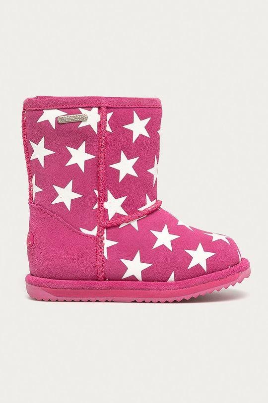 roz Emu Australia - Cizme de iarna copii Starry Night Brumby De fete