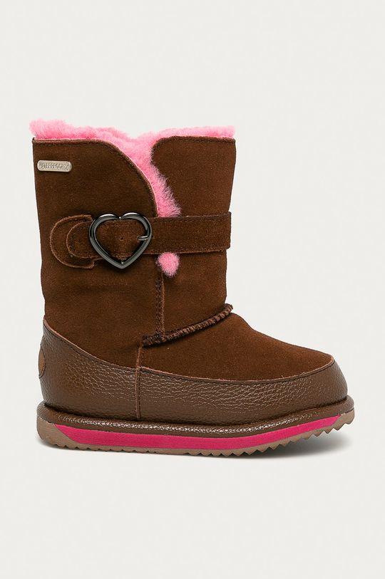 золотисто-коричневий Emu Australia - Дитячі чоботи Mem Для дівчаток