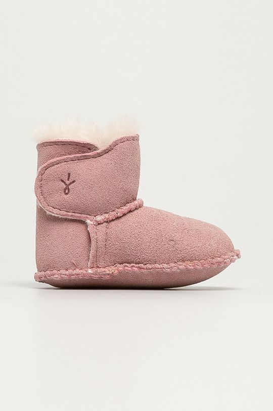 pastelově růžová Emu Australia - Dětské boty Baby Bootie Dívčí