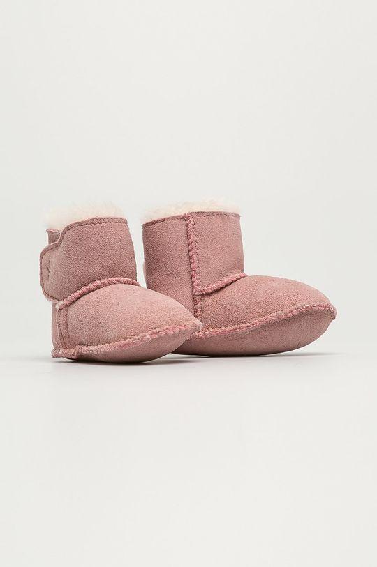 Emu Australia - Dětské boty Baby Bootie pastelově růžová