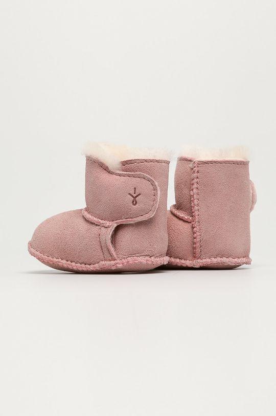 Emu Australia - Dětské boty Baby Bootie  Svršek: Semišová kůže Vnitřek: Merino vlna Podrážka: Semišová kůže